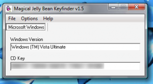 Magical Jelly Bean Keyfinder 2.0.10.13 - náhled