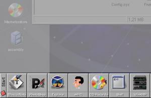 DockBar 1.01 - náhled
