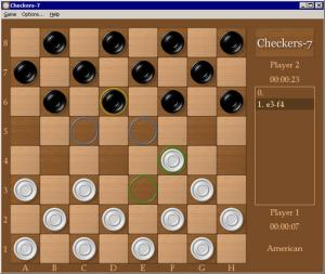 Checkers-7 2.5 - náhled