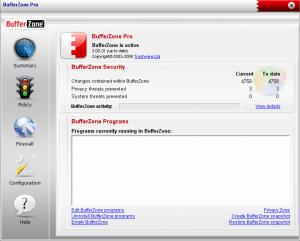 BufferZone Pro 4.01-77 - náhled