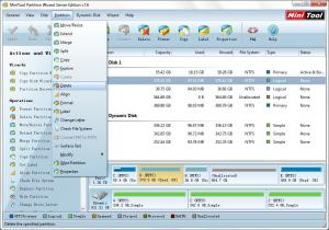 MiniTool Partition Wizard 9.1 - náhled