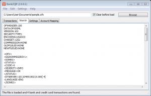 Bank2QIF 2.2.1.8 - náhled