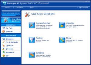 System Suite 9.0 - náhled