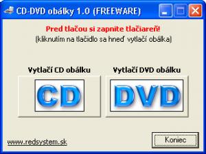 CD - DVD obálky 1.0 - náhled