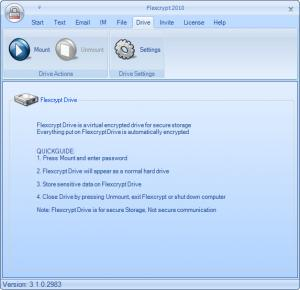 Flexcrypt Trial 2010 - náhled