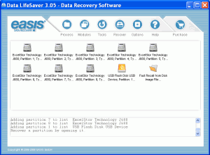 EASIS Data Recovery 4.4 - náhled