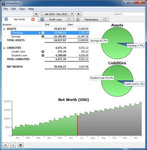 moneyGuru 2.7.0 - náhled