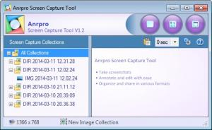 Anrpro Screen Capture Tool 1.3.0 - náhled