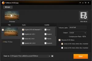 TDMore DVD Copy 1.0.0.2 - náhled