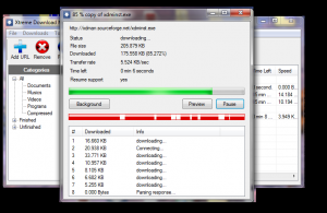 Xtreme Download Manager 4.7.2 - náhled