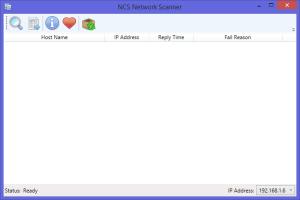 NCS Network Scanner 1.0.2.1 - náhled