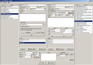 Hlavní okno aplikace - náhled