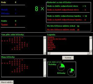 Hlavní formulář hlavního režimu2 - náhled