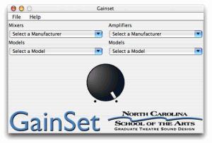 GainSet 1.3 - náhled