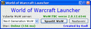 World of Warcraft Launcher 1.0.12 - náhled