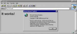 Internet Explorer Collection 1.7.2.1 - náhled