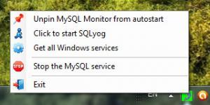 MySQL Monitor 1.0 - náhled