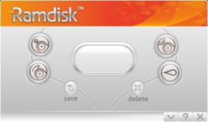 GiliSoft RAMDisk 4.6 - náhled