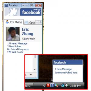 Facebook Desktop 1.0 - náhled