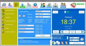 Elasyc RFID dochádzkový systém 1.4.0 - náhled