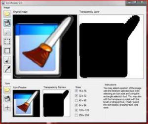 IconConverter 2.0 - náhled