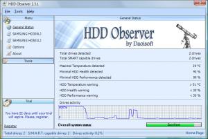 HDD Observer 3.1 - náhled