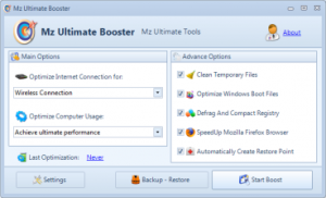 Mz Ultimate Booster 5.1.0 - náhled