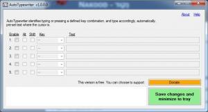 AutoTypewriter 1.0.1 - náhled