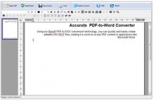 Boxoft PDF to Word 2.0 - náhled