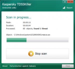 TDSSKiller 3.1.0.17 - náhled
