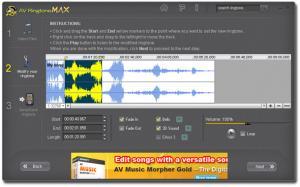 AV RingtoneMAX 1.0 - náhled