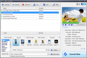 PC Video Converter 9.1.2 - náhled