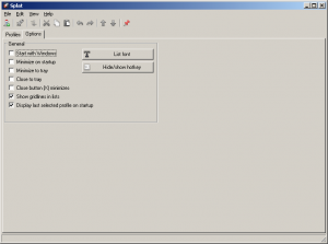 Splat 1.1.8 - náhled