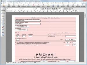 Podnikatelský systém PROFIT - náhled