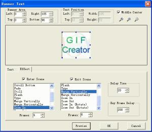 EximiousSoft GIF Creator 7.33 - náhled