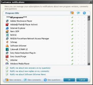 Software Informer 1.0 - náhled