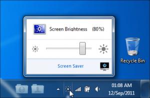 iBrightness Tray 1.0 - náhled
