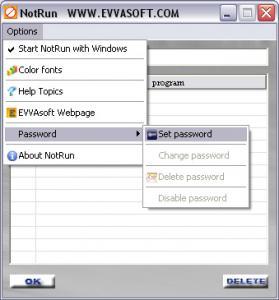 NotRun 1.0 - náhled