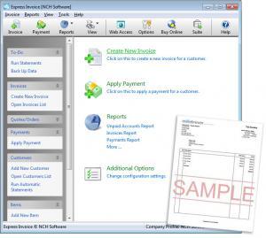 Express Invoice 4.32 - náhled