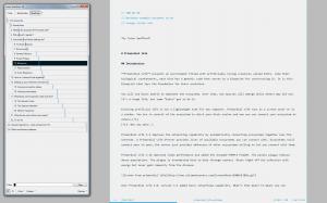 WriteMonkey 3.2.0 - náhled