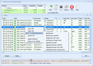 GSA Search Engine Ranker 10.86 - náhled