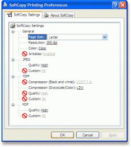SoftCopy 3.0.1 - náhled