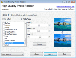 High Quality Photo Resizer 5.0.2 - náhled