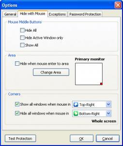 Hide My Windows 1.9.9 - náhled