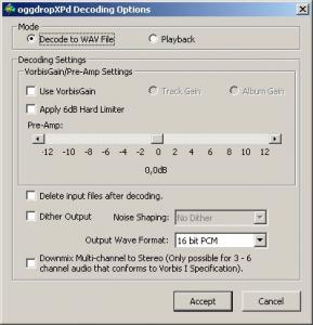 oggdropXPd 1.9.0 - náhled