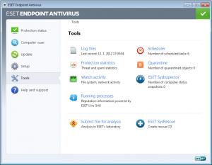 ESET Endpoint Antivirus 5.0.2126.11 - náhled