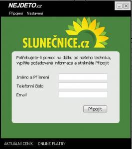 Servis Slunečnice.cz - náhled