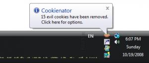 Cookienator 2.6.41 - náhled