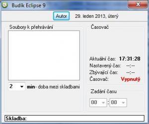 Budík Eclipse 9.4 - náhled