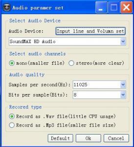 VoiceMon 2.85 - náhled